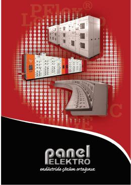 Katalog Özet - Panel Elektro