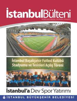 Temmuz 2014 - İstanbul Büyükşehir Belediyesi