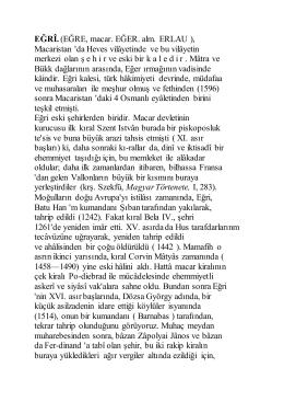 Egri - M. Tayyib Gökbilgin