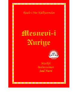 Mesnevi-i Nuriye (Pdf) - Mesuliyet Şuuru Kitabı