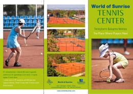 Tenis A4 Broşür 2