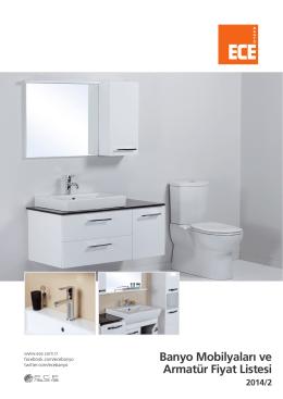 Banyo Mobilyaları ve Armatür Fiyat Listesi