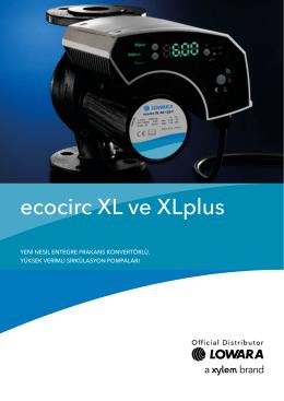 ecocirc XL ve XLplus