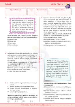 Örnek sayfalar için tıklayınız