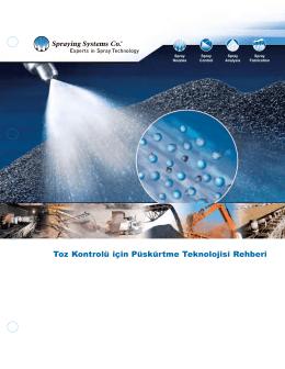 Toz Kontrolü için Püskürtme Teknolojisi Rehberi