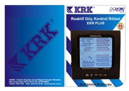 EKR PLUS TR-20-01-14