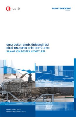 Sanayi için - Bilgi Transfer Ofisi (BTO)