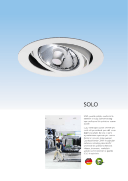 SOLO SPOT - EAE Aydınlatma