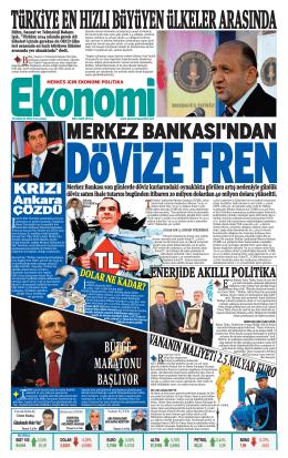 10 aralık 2014 - Ekonomi Gazetesi