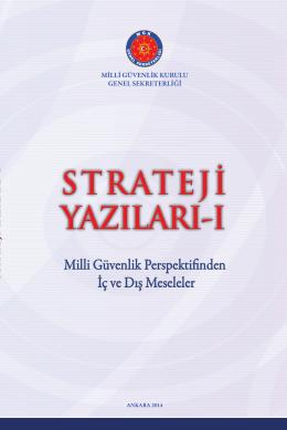 Strateji Yazıları - MGK Genel Sekreterliği
