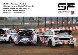 Sayı 16 - Türkiye Otomobil Sporları Federasyonu