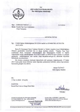 Hali~GLU - Akçaabat İlçe Milli Eğitim Müdürlüğü