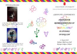"""""""SEXUALITIES"""" - Hacettepe Üniversitesi"""
