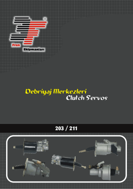 clutch servos