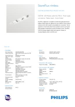 StoreFlux GD514B gömme çerçevesiz LED armatür