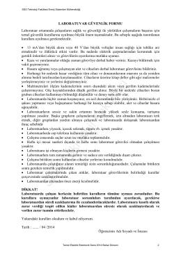 SDÜ Teknoloji Fakültesi