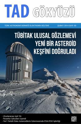 GÖKYÜZÜ – Sayı 50 – Şubat 2014