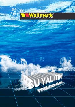 1.sürme esaslı su yalıtım malzemeleri