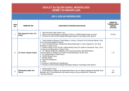 DSİ 5.Bölge Müdürlüğü - Devlet Su İşleri Genel Müdürlüğü