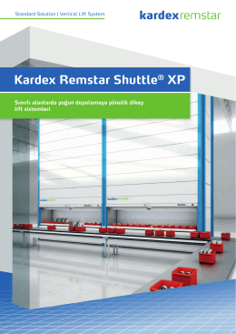 Kardex Remstar Shuttle XP