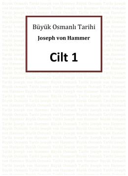 Büyük Osmanlı Tarihi 1.Cilt