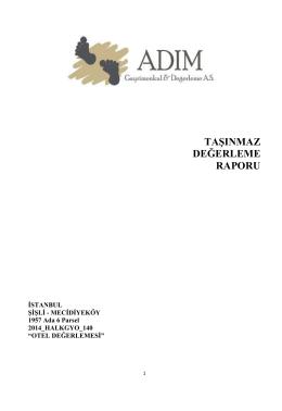 """""""Levent Dedeman Otel"""" Projesi (Aralık 2014)"""