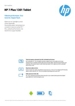 PSG Consumer 1C14 Tablet Datasheet