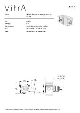 Tanım Minibox Ankastre Du Bataryası (Sıva Altı Grubu) Kod