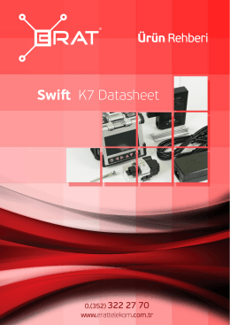 Swift K7 Datasheet