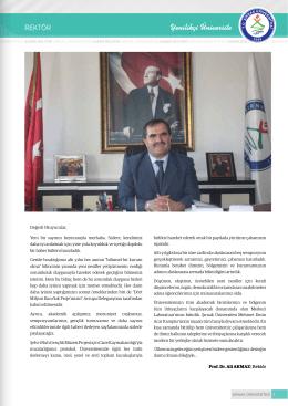 ŞÜ Bülteni - Şırnak Üniversitesi