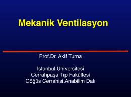 Mekanik Ventilasyon.key