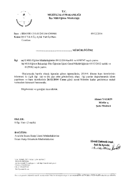 Güvenli Elektronik Imzalı - mersin - mezitli ilçe millî eğitim müdürlüğü