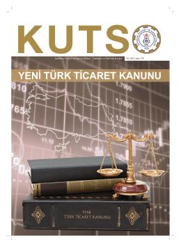 kutso dergi sayı 175 - Kütahya Ticaret ve Sanayi Odası