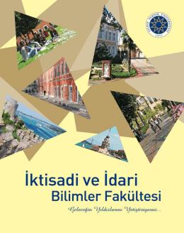 1405524021_İİBF Broşür 2014 - İktisadi ve İdari Bilimler Fakültesi