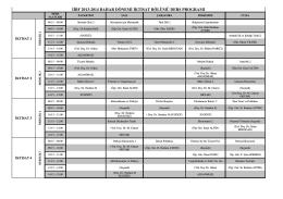 iibf 2013-2014 bahar dönemi iktisat bölümü ders programı