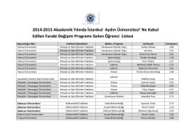 istanbul aydın üniversitesi öğrenci listesi için tıklayı