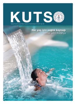 KUTSO 183 yayın son - Kütahya Ticaret ve Sanayi Odası
