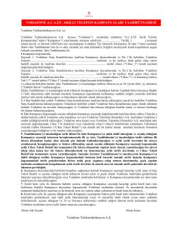 vodafone acai.p. akıllı telefon kampanyaları