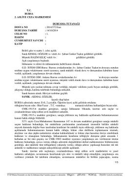 BİST-30 DESTEK DİRENÇ TABLOSU