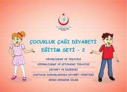 çocukluk çağı diyabeti eğitim seti