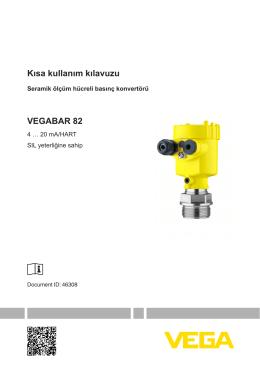 Kullanim Kilavuzu - VEGABAR 82 - 4 … 20 mA/HART SIL yeterliğine