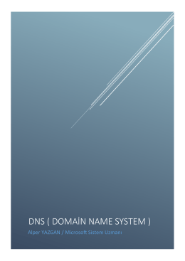 DNS ( Domain Name System ) - Technet Gallery