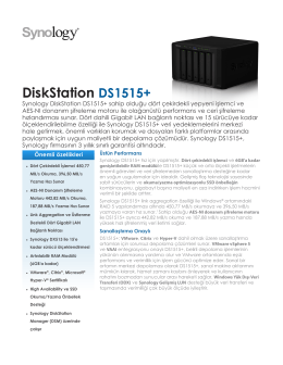 DiskStation DS1515+