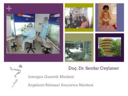 Doç. Dr. Serdar Ceylaner