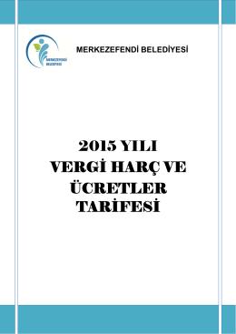 Tarifeler - Merkezefendi Belediyesi