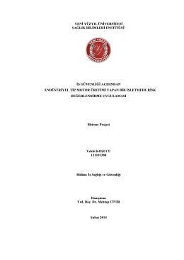 VEHBİ KOŞUCU - 131101388 - İstanbul Yeni Yüzyıl Üniversitesi