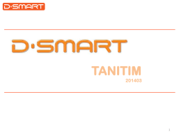 D-Smart Nedir - 10A Sistem Bilişim