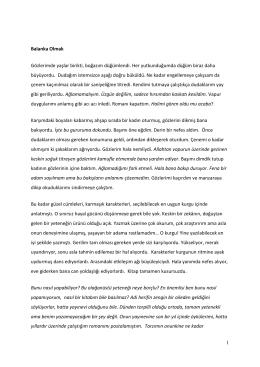 Balanka_Olmak