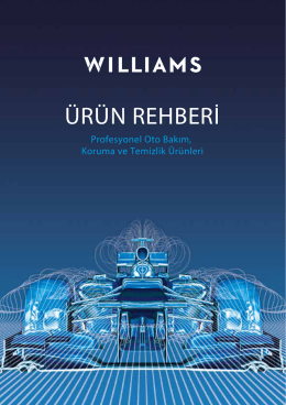 williams trade broşür - Williams Türkiye