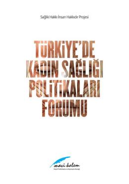 Türkiyede Kadın Sağlığı Politikaları Forumu